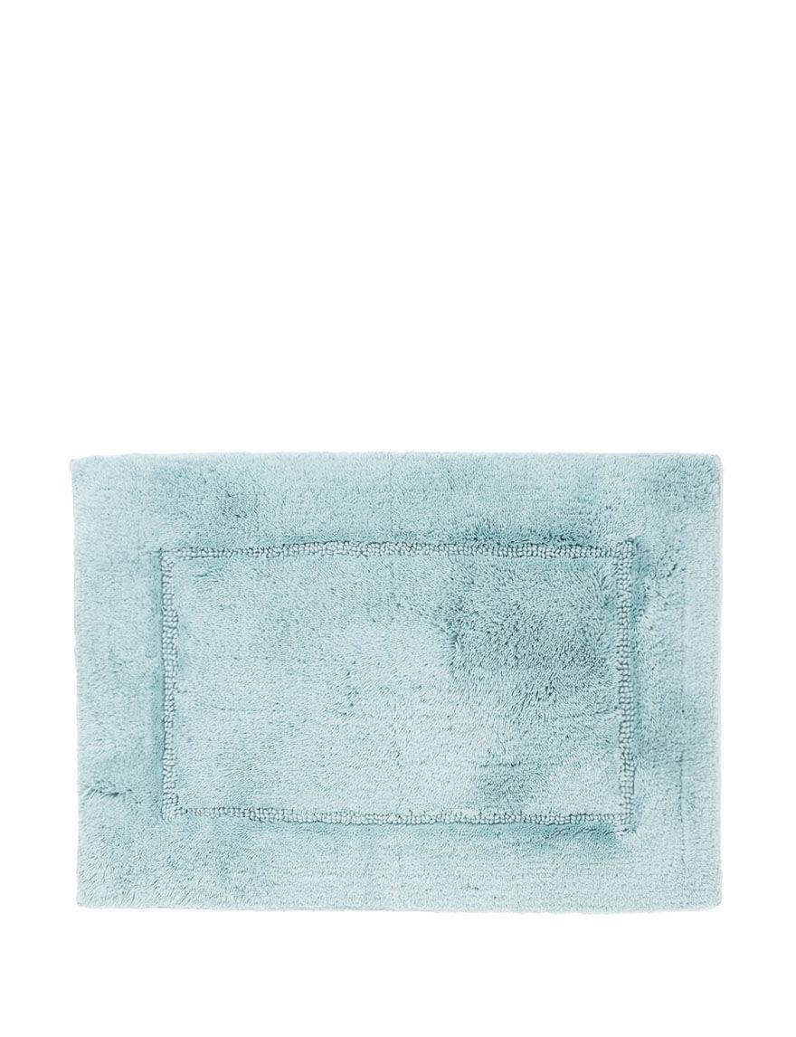 Hygrosoft White Bath Rugs & Mats