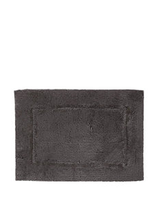 HygroSoft Solid Color Grey Bath Rug