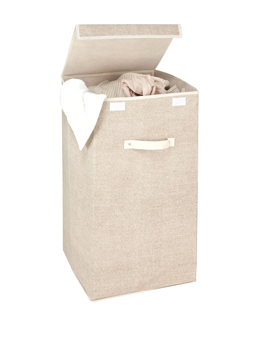 Simplify Beige Laundry Hampers Irons & Clothing Care