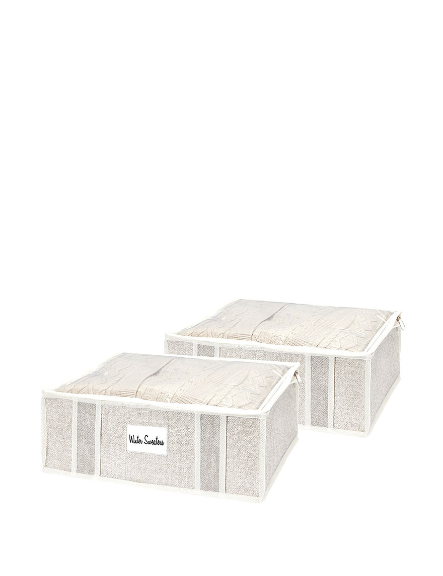 Simplify Beige Storage Bags & Boxes Storage & Organization