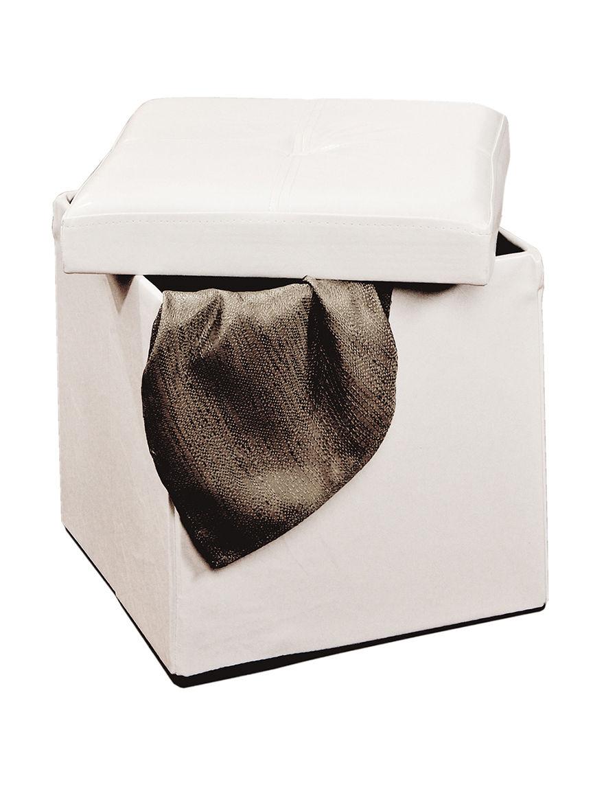 Simplify Ivory Storage Bags & Boxes Storage & Organization