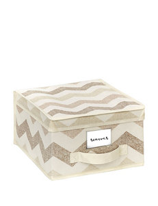 The Macbeth Collection Beige Storage Bags & Boxes Storage & Organization