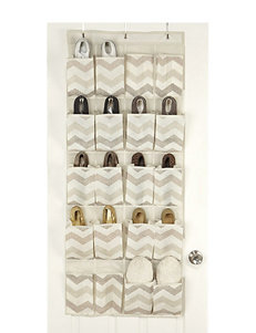 Macbeth Collection® Textured Chevron 20-Pocket Shoe Organizer