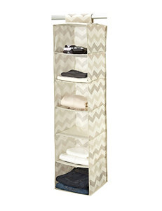 Macbeth Collection® Textured Chevron 6-Shelf Shoe Organizer