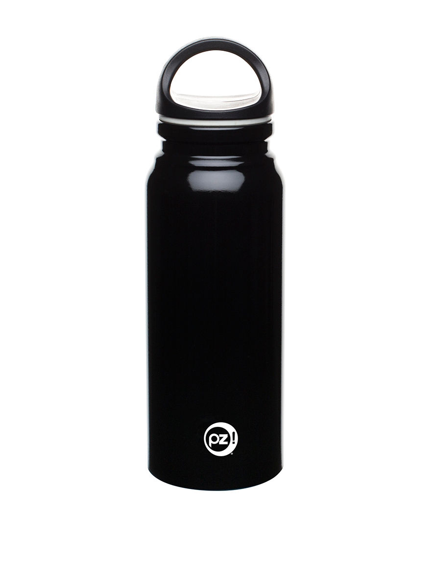 Zak Designs Black Water Bottles Camping & Outdoor Gear Drinkware Fitness Equipment