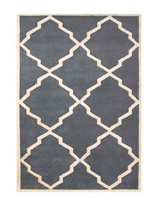 Alliyah Rugs Jagged Edged New Zealand Blended Wool Rug