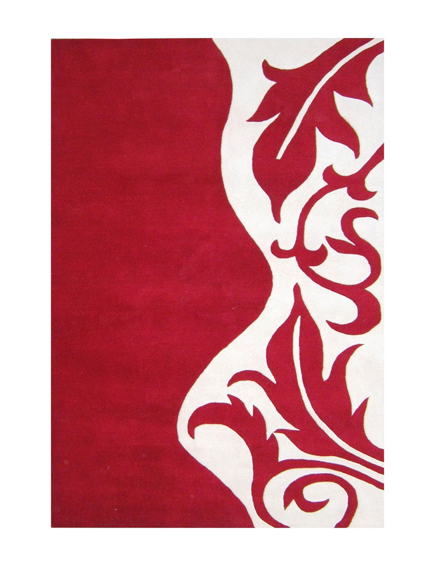 Alliyah Rugs Red Rugs
