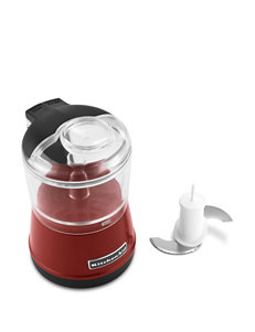 KitchenAid Red Food Processors Kitchen Appliances