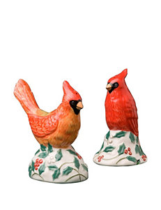 Pfaltzgraff 2-pc. Winterberry Cardinal Salt & Pepper Set