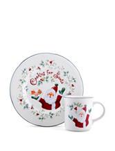 Pfaltzgraff 2-pc. Cookies & Milk For Santa Set