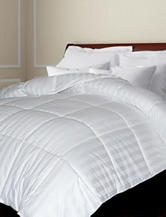 Blue Ridge Home Fashions 500 Thread Count Damask Stripe All Season Down Comforter