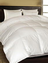 Blue Ridge Home Fashions 1000 Thread Count Egyptian Cotton European White Down Comforter