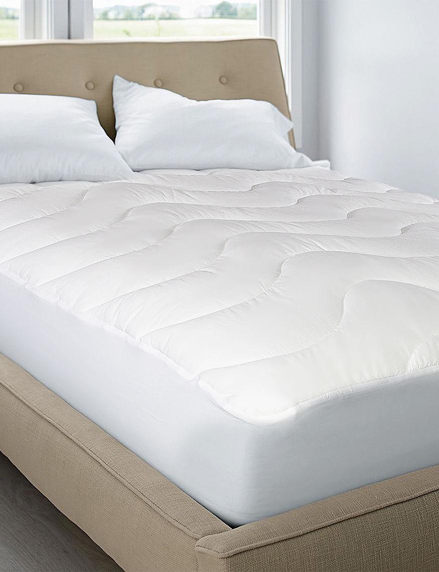 Blue Ridge Home Fashions White Mattresses Mattress Pads & Toppers