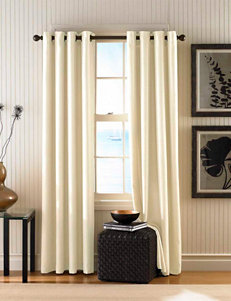 Curtain Works Cream Curtains & Drapes Window Treatments