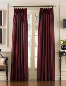 Curtain Works Messina Grommet Single Curtain Panel - Bordeaux