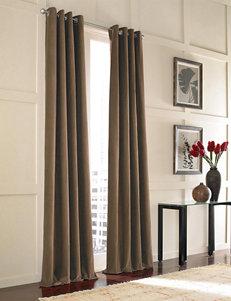 Curtain Works Mocha Curtains & Drapes Window Treatments