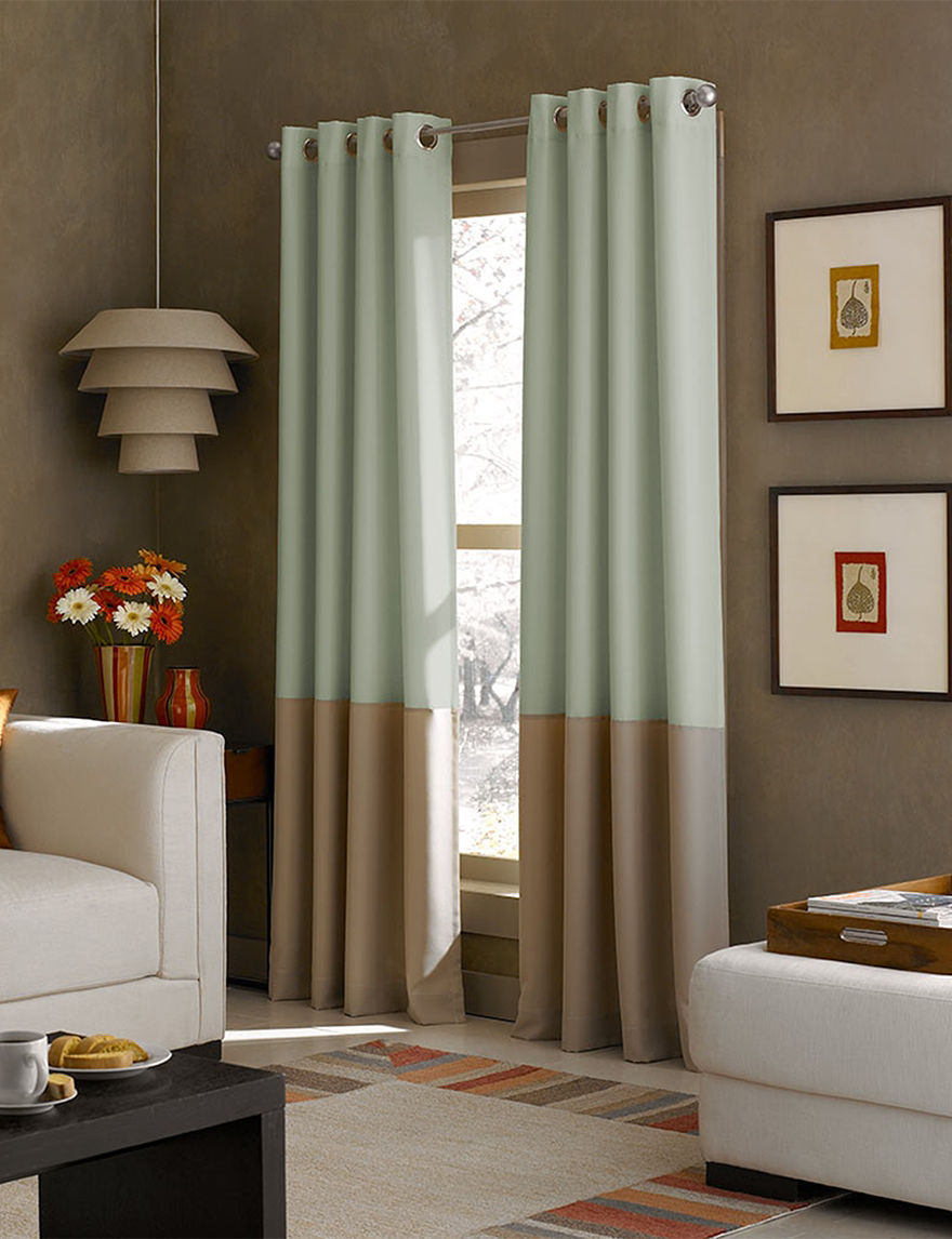 Curtain Works Mint Curtains & Drapes Window Treatments