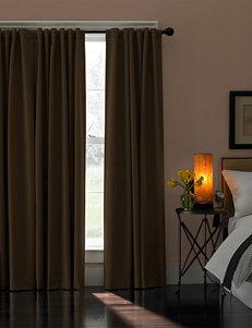 Curtain Works Dark Brown Curtains & Drapes