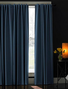 Curtain Works Navy Curtains & Drapes Window Treatments