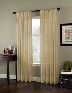 Curtain Works Beige Curtains & Drapes Window Treatments
