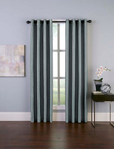 Curtain Works Teal Curtains & Drapes