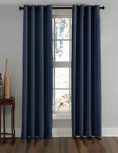 Curtain Works Navy Curtains & Drapes