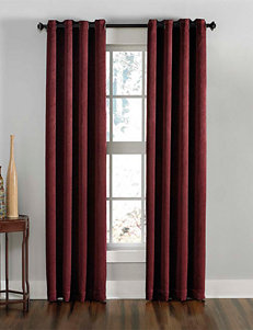 Curtain Works Wine Curtains & Drapes Window Treatments