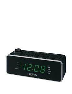 Jensen Dual Alarm Projection Clock Radio