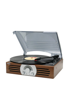 Jensen Stereo 3 Speed Turntable with Stereo Radio