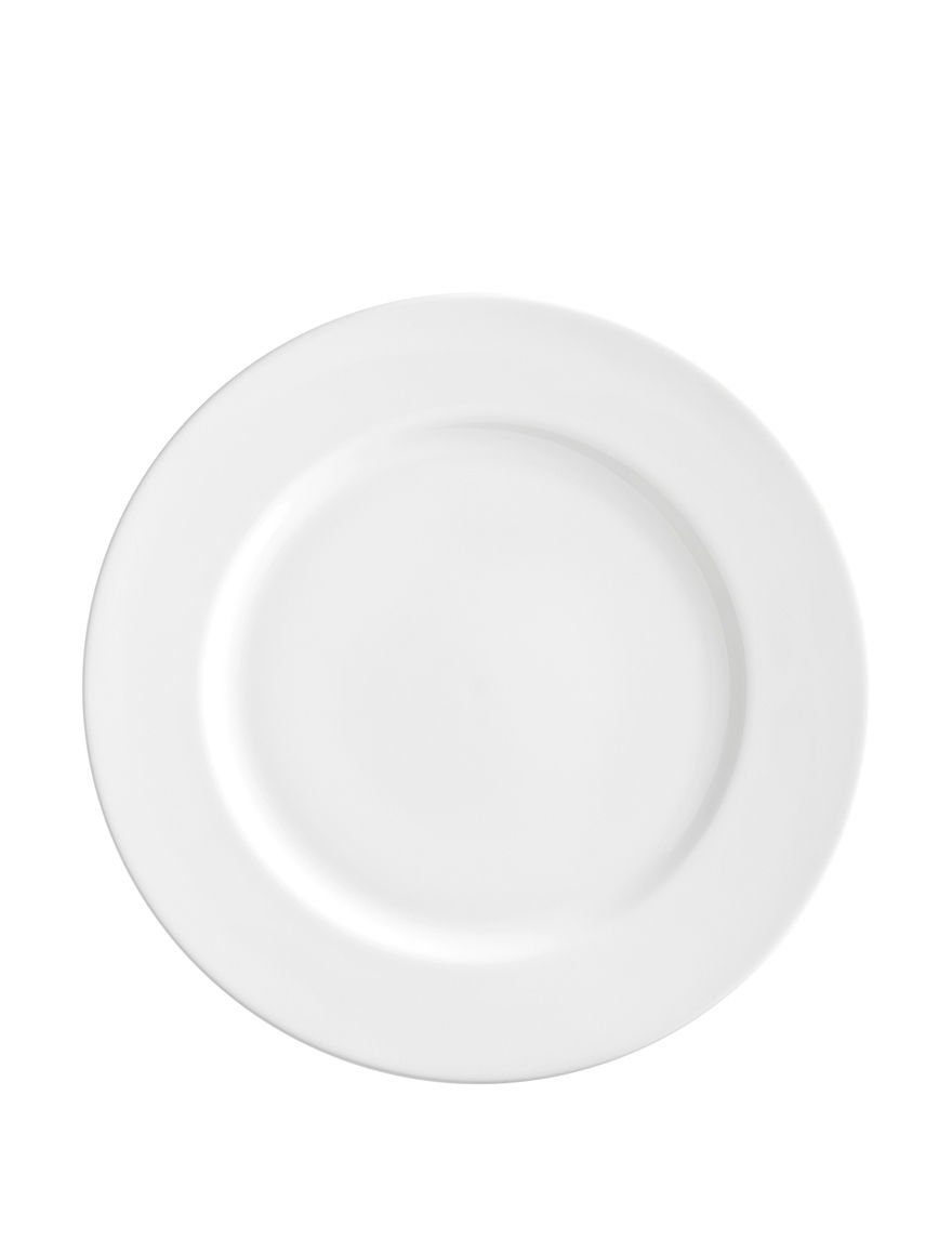 10 Strawberry Street White Plates Dinnerware