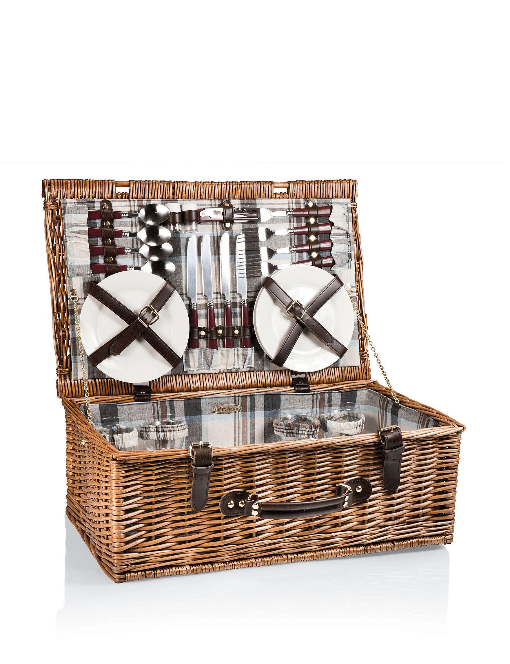 Picnic Basket Spotlight : Picnic time newbury basket stage stores