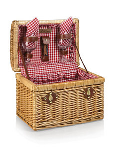 Picnic Time Chardonnay Insulated Wine Basket