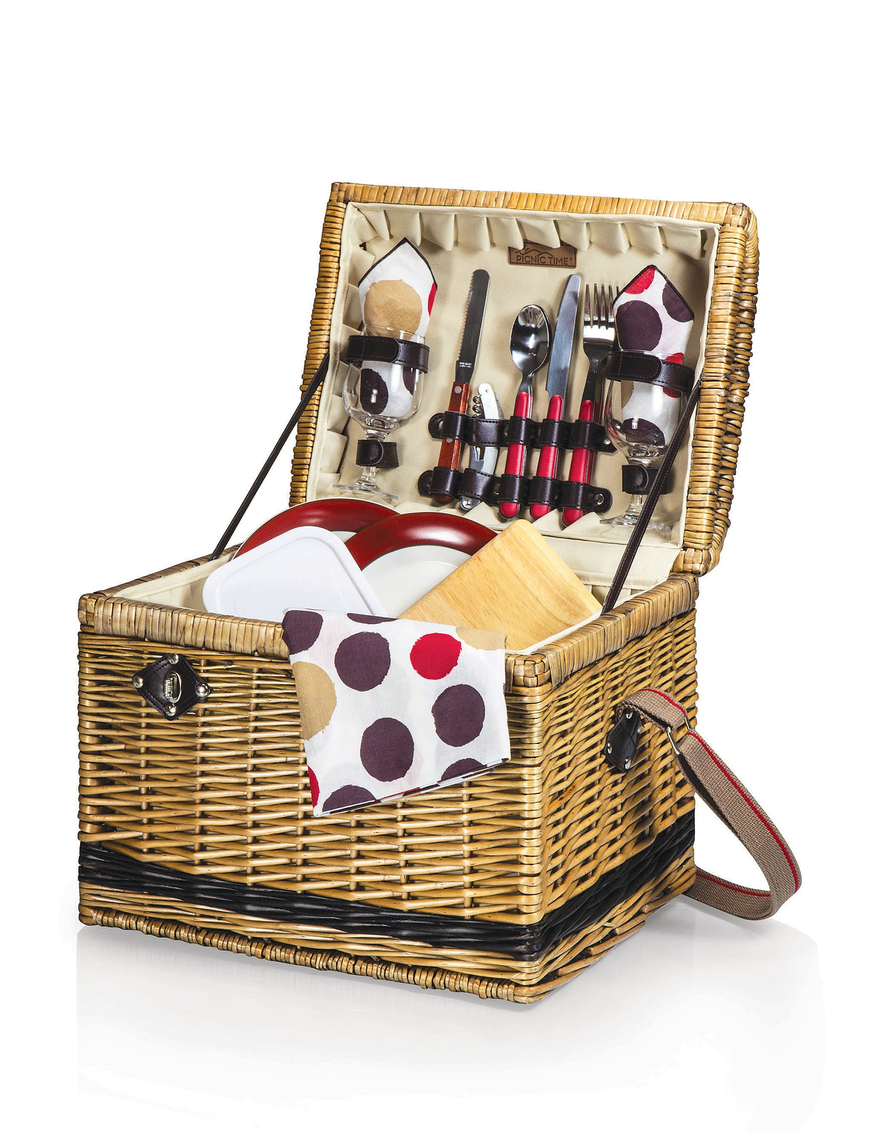 Picnic Basket Spotlight : Picnic time yellowstone basket stage stores