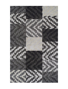 Dalyn Rugs Grand Tour Collection Zig Zag Patchwork Print  Area Rug