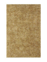 Dalyn Rugs Illusion Collection Solid Color Beige Shag Area Rug