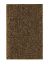Dalyn Rugs Illusion Collection Solid Color Gold Shag Area Rug