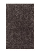 Dalyn Rugs Illusion Collection Solid Color Grey Shag Area Rug