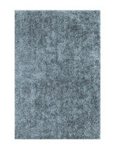 Dalyn Rugs Illusion Collection Solid Color Sky Blue Shag Area Rug