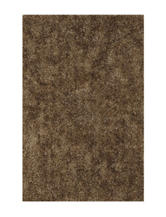 Dalyn Rugs Illusion Collection Solid Color Taupe Shag Area Rug