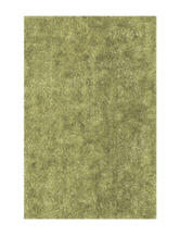 Dalyn Rugs Illusion Collection Solid Color Willow Green Shag Area Rug