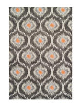 Dalyn Rugs Modern Greys Collection Ikat Print Area Rug