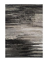 Dalyn Rugs Modern Greys Collection Black & Grey Static Print Area Rug