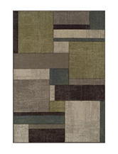 Dalyn Rugs Radiance Collection Abstract Squares Print Area Rug