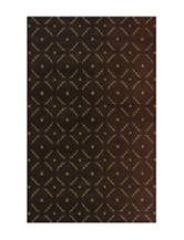 Dalyn Rugs Radiance Collection Dot Print Area Rug