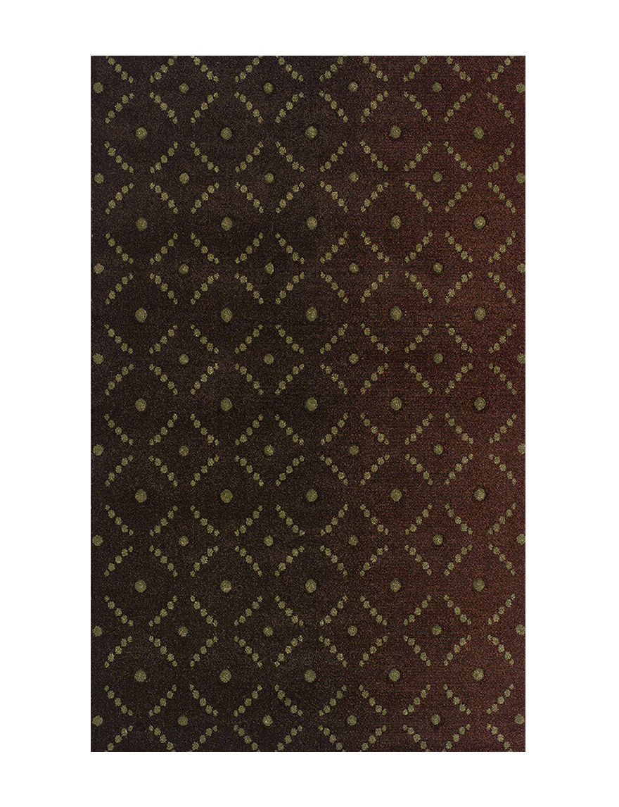 Dalyn Rugs Radiance Collection Dot Print Area Rug Stage