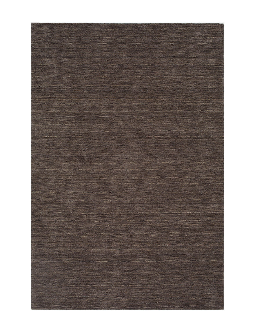 Dalyn Rugs Rafia Collection Solid Color Charcoal Wool Rug