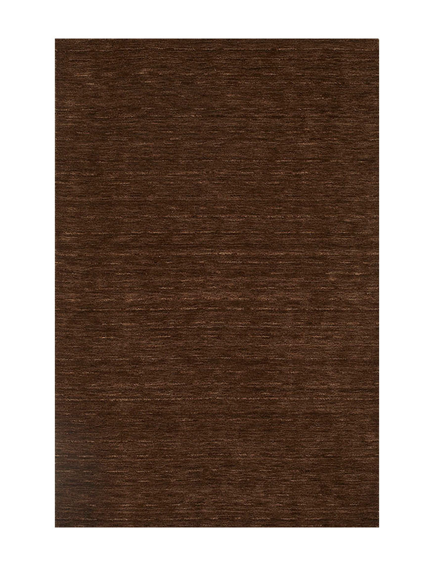Dalyn Rugs Rafia Collection Multi Tonal Chocolate Brown