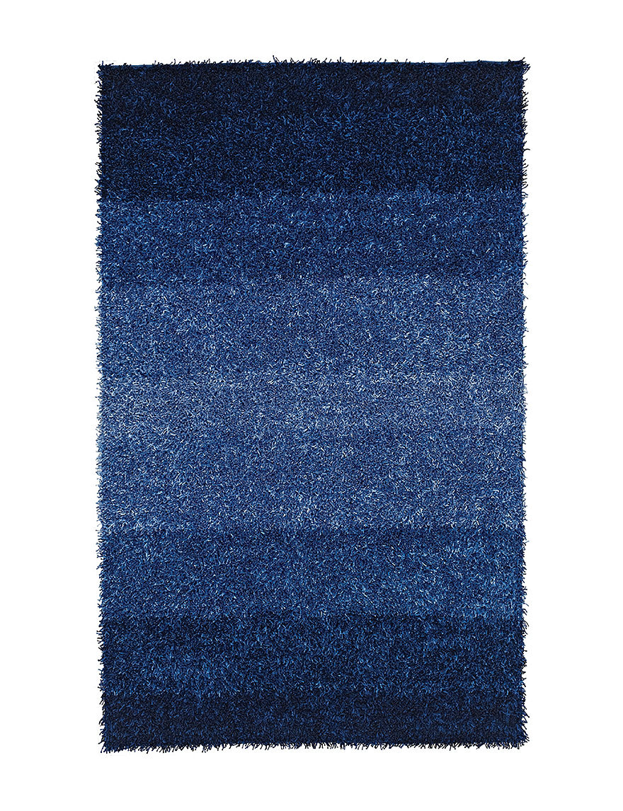 Dalyn Rugs Spectrum Collection Blue Cord Shag Area Rug
