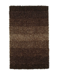 Dalyn Rugs Spectrum Collection Brown Cord Shag Area Rug