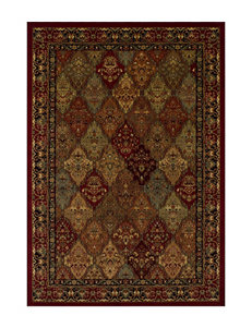 Dalyn Rugs Diamond Floral Border Print Wembley Collection Area Rug